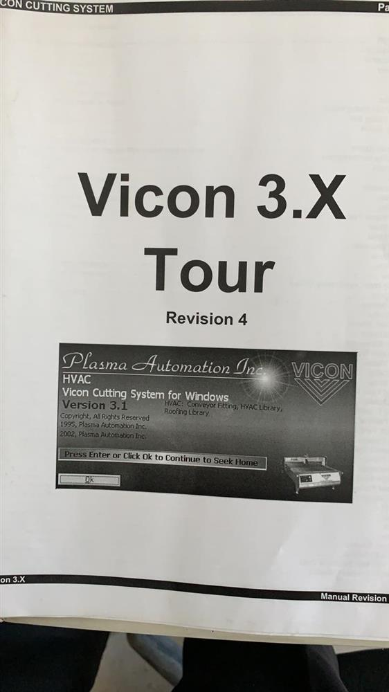 Image VICON Double Table CNC Plasma Sheet Cutter 1455641