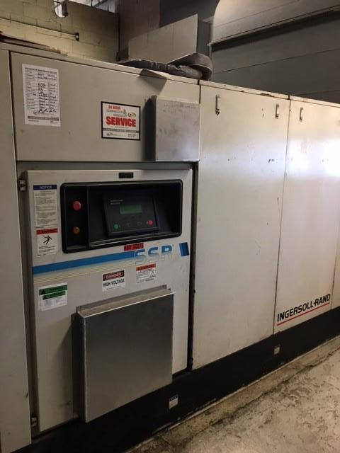 Image 150 HP INGERSOLL RAND Rotary Screw Air Compressor 1455678