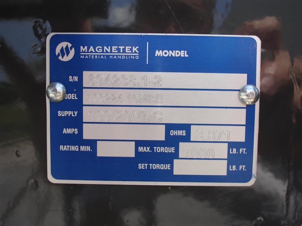 Image MAGNETEK Crane Brakes 1455702