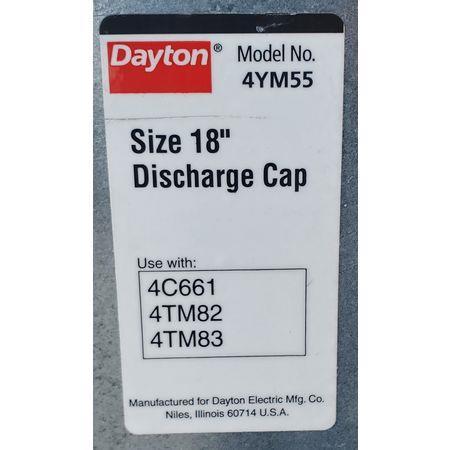 Image 1.5 HP DAYTON 4C661B Tubeaxial Belt Driven Fan 1456068