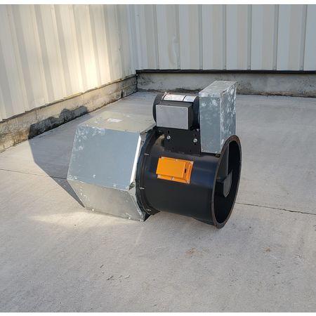 Image 1.5 HP DAYTON 4C661B Tubeaxial Belt Driven Fan 1455756