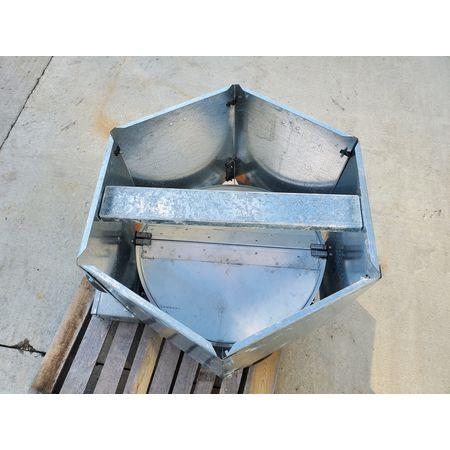 Image 1.5 HP DAYTON 4C661B Tubeaxial Belt Driven Fan 1456065