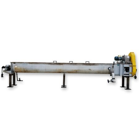 Image THOMAS CONVEYOR CO. Heating Thermal Screw Auger Conveyor - 62 Sq. Ft., 18in X 20ft  1455766