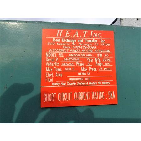 Image HEAT EXCHANGE AND TRANSFER Hot Oil Heater System Thermal Fluid 1456089