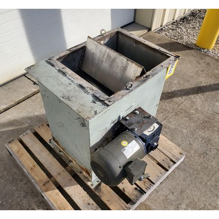 Image 10in Dia. Rotary Drum Magnet Magnetic Separator 1455786