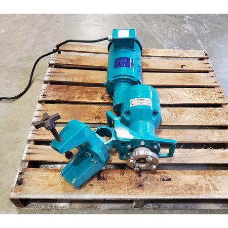 Image 2 HP BRAWN MIXER Top-Entry Clamp Mount Mixer 1455833