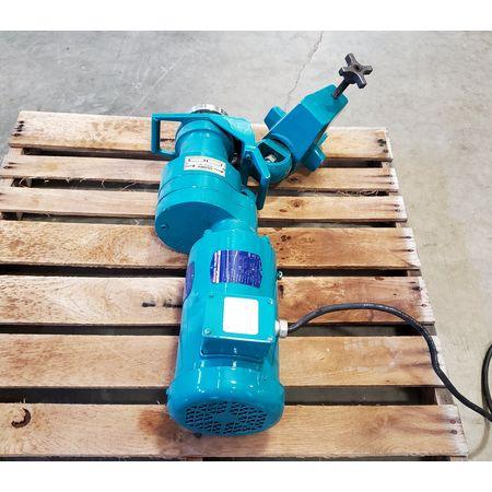 Image 2 HP BRAWN MIXER Top-Entry Clamp Mount Mixer 1455835
