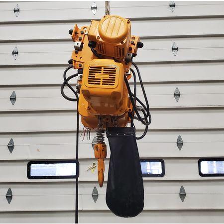 Image 2 Ton HARRINGTON Electric Hoist with Trolley 1455939