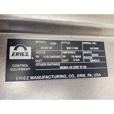 Image ERIEZ DSP 8X20 HI EZ Tec Conveyorized Metal Detector 1456134