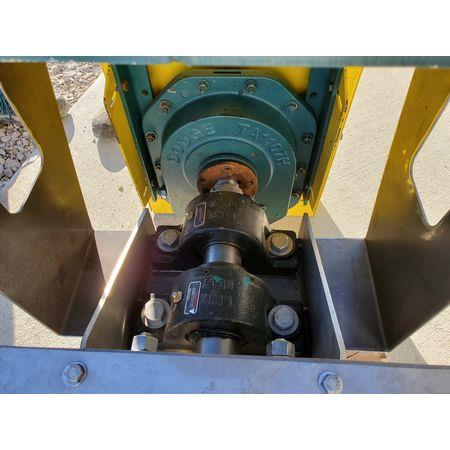 Image LINK BELT Jacketed Mixing Screw Auger Paddle Conveyor - 9in Dia X 15ft-4in L 1456140