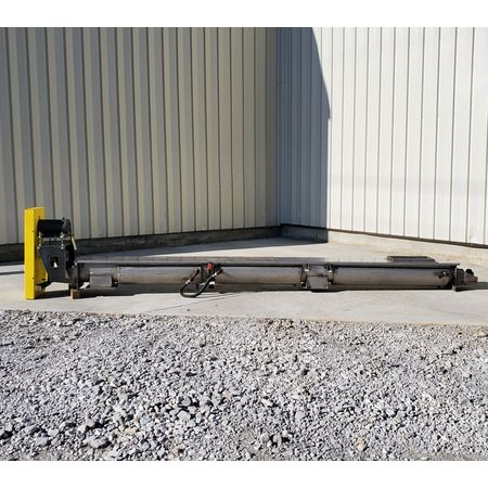 Image LINK BELT Jacketed Mixing Screw Auger Paddle Conveyor - 9in Dia X 15ft-4in L 1455950