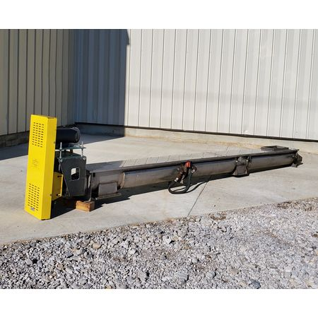 Image LINK BELT Jacketed Mixing Screw Auger Paddle Conveyor - 9in Dia X 15ft-4in L 1455951