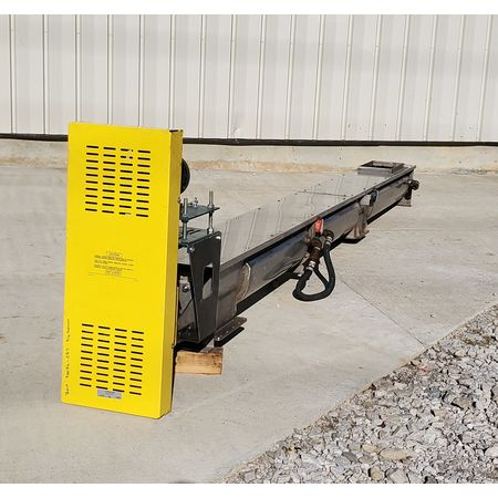 Image LINK BELT Jacketed Mixing Screw Auger Paddle Conveyor - 9in Dia X 15ft-4in L 1455952