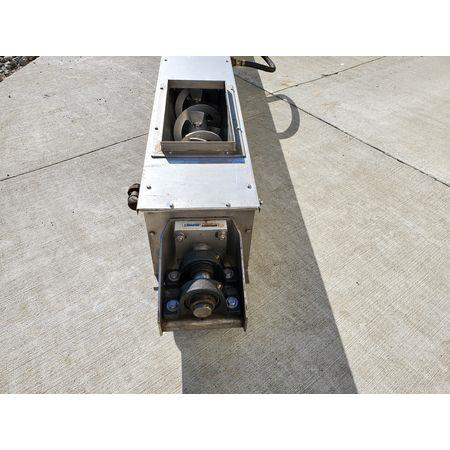 Image LINK BELT Jacketed Mixing Screw Auger Paddle Conveyor - 9in Dia X 15ft-4in L 1456137