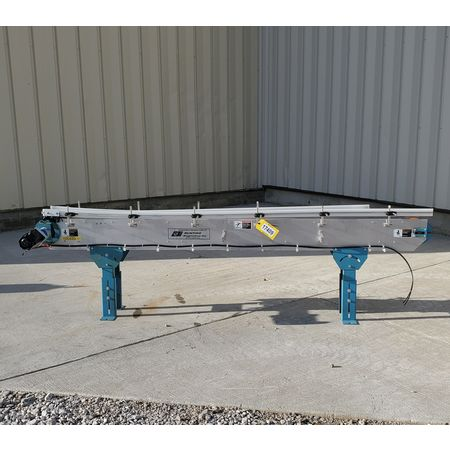 Image BUNTING MAGNETICS Belt Conveyor - Parts, 6in Wide X 8ft-10in Long  1455983