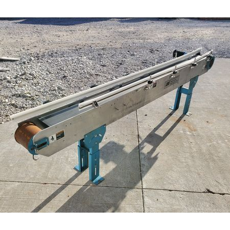 Image BUNTING MAGNETICS Belt Conveyor - Parts, 6in Wide X 8ft-10in Long  1455986