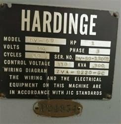 Image HARDINGE DV-59 Lathe 1456526