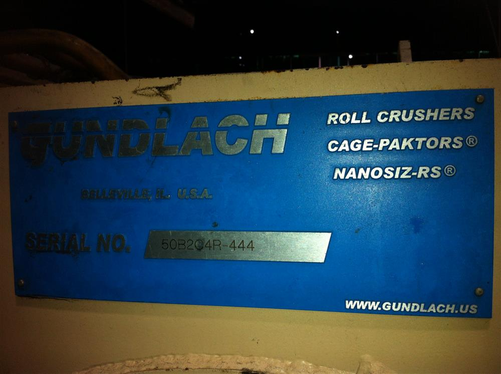 Image GUNDLACH Roll Crusher/Cage Mill 1456958