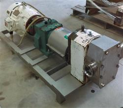 Image APV R6BS Rotary Lobe Pump - 3in Threaded Inlet/Outlet 1456974