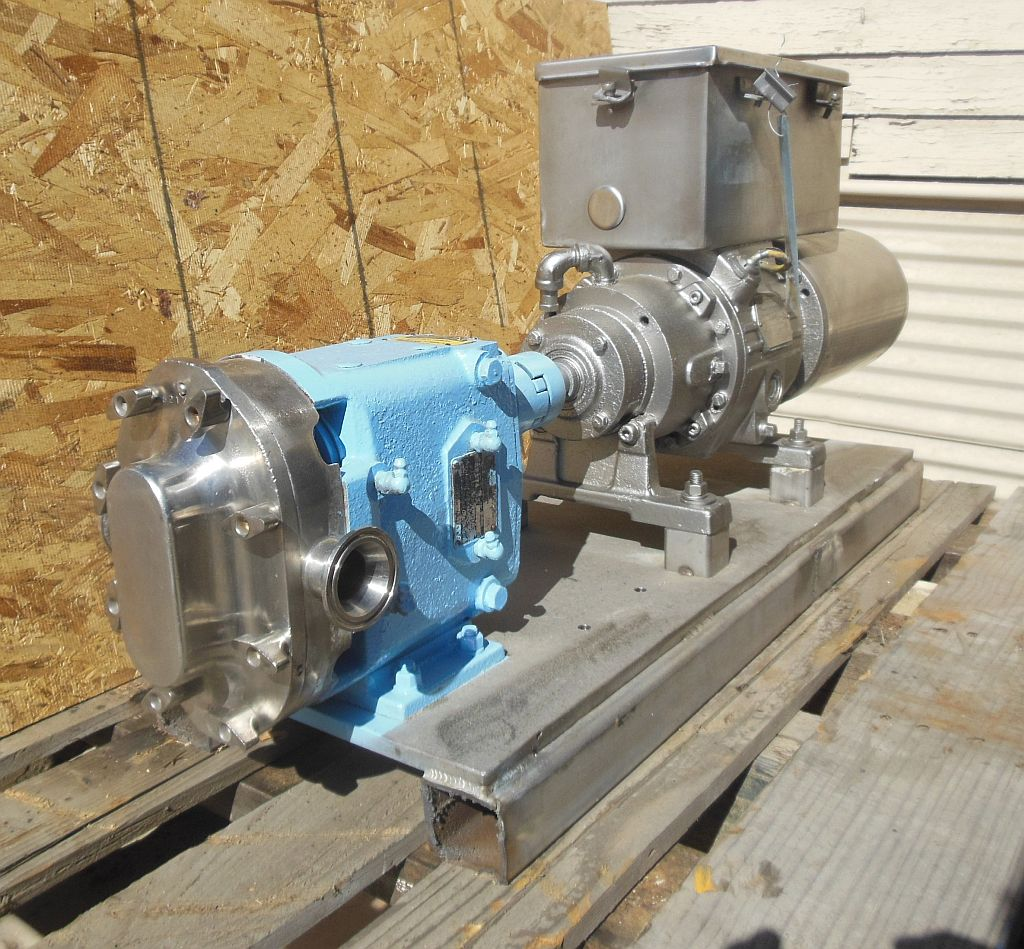 Image WAUKESHA 15 Positive Displacement Pump 1457036