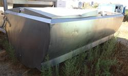 Image 1,000 Gallon GLOBE Jacketed Tank - Stainless Steel 1457144