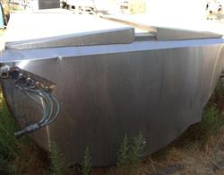 Image 1,000 Gallon GLOBE Jacketed Tank - Stainless Steel 1457145