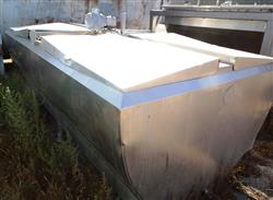 Image 1,000 Gallon GLOBE Jacketed Tank - Stainless Steel 1457146