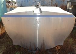 Image 1,000 Gallon GLOBE Jacketed Tank - Stainless Steel 1457148