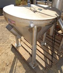 Image 3.5 Cu. Ft. PRECISION STAINLESS Hopper 1457253