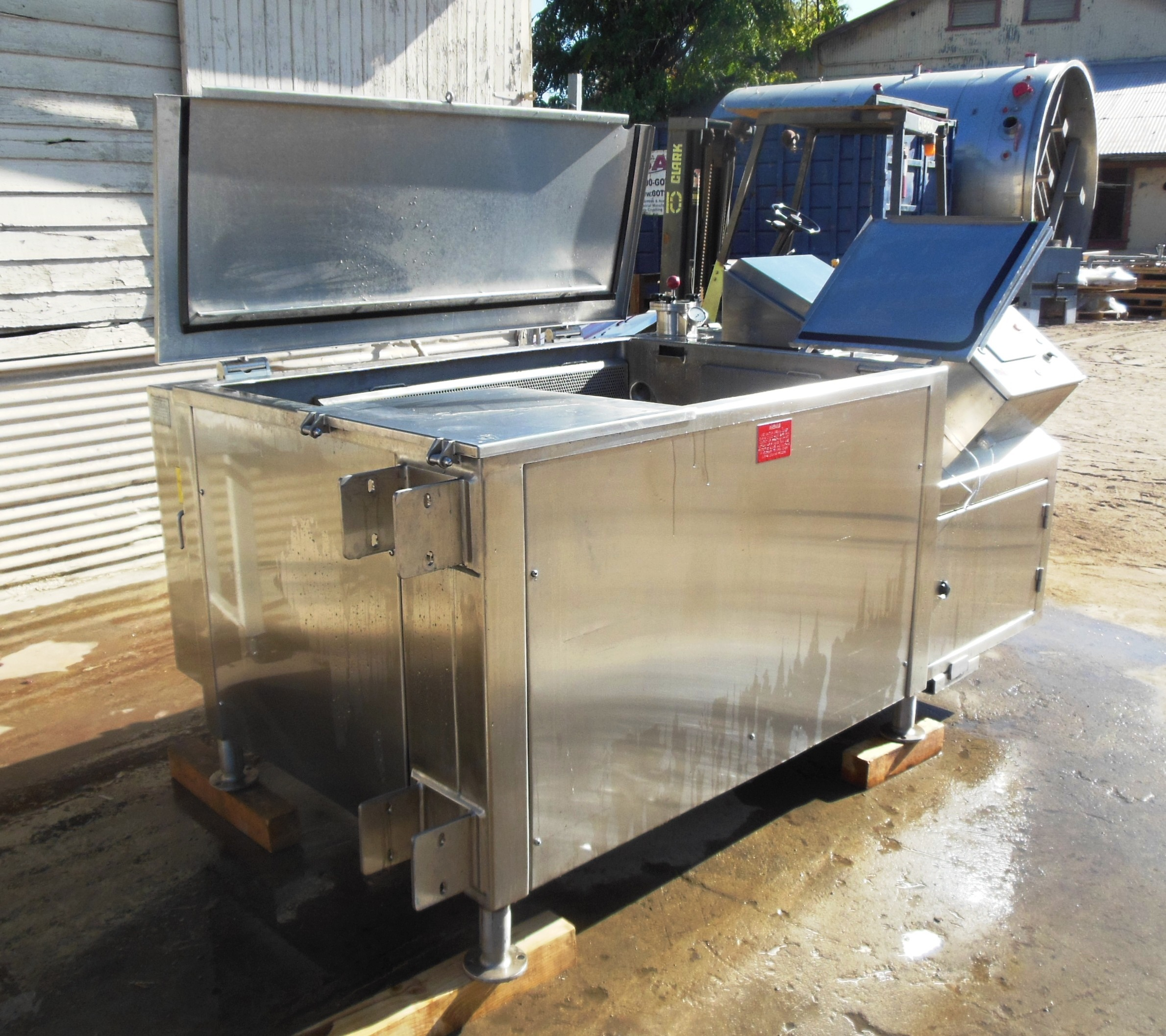 Image 100 Gallon CLEVELAND Combination Cook Tank 1457271