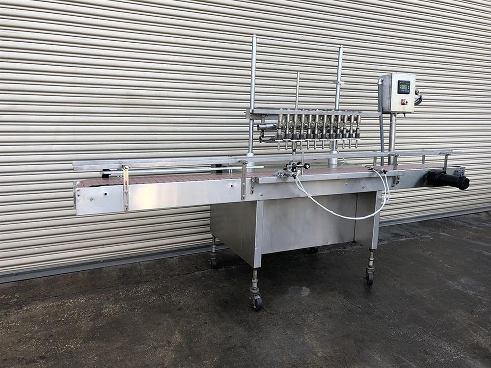 Image 12 Head FEC Automatic Inline Bottle Filler - Stainless Steel 1457493