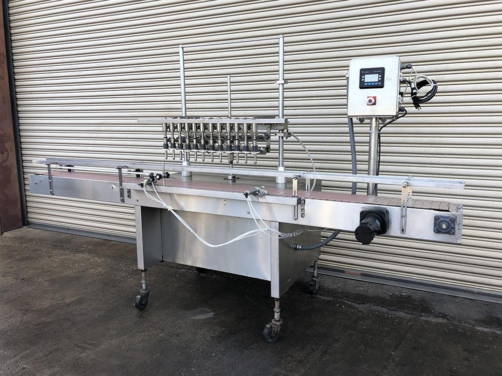 Image 12 Head FEC Automatic Inline Bottle Filler - Stainless Steel 1457494