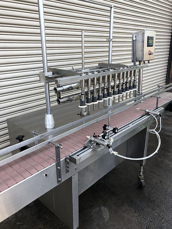 Image 12 Head FEC Automatic Inline Bottle Filler - Stainless Steel 1457498
