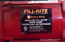 Image FILL-RITE High Flow Fuel Transfer Pump with Meter 1457719