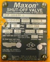 Image MAXON CORPORATION Shut-Off Valve 1457815