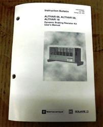 Image TELEMECANIQUE / SQUARE D Dynamic Brake Resistor Assembly 1457839