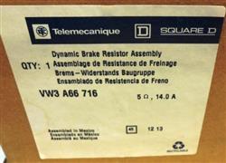 Image TELEMECANIQUE / SQUARE D Dynamic Brake Resistor Assembly 1457841