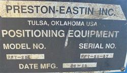 Image PRESTON-EASTIN 180 Degree Indexer with SLC 500 Controller 1457844