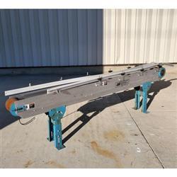 Image BUNTING MAGNETICS CO. Slider Bed Belt Conveyor - Parts, 6in W X 8ft L  1458268