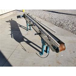 Image BUNTING MAGNETICS CO. Slider Bed Belt Conveyor - Parts, 6in W X 8ft L  1458271