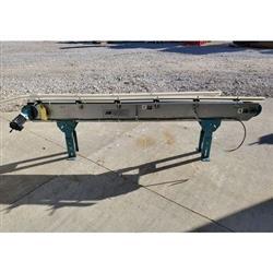 Image BUNTING MAGNETICS CO. Slider Bed Belt Conveyor - Parts, 6in W X 8ft L  1458288