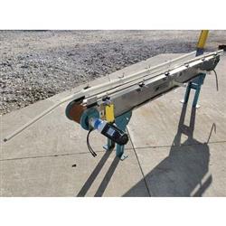 Image BUNTING MAGNETICS CO. Slider Bed Belt Conveyor - Parts, 6in W X 8ft L  1458289