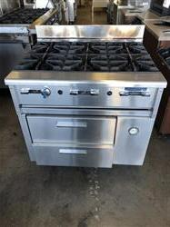 Image IMPERIAL 6-Burner Range with 2 Refrigerated Drawers 1458336