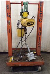 Image .5 Ton BUDGIT Electric Chain Hoist 1459082