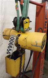 Image .5 Ton BUDGIT Electric Chain Hoist 1459087