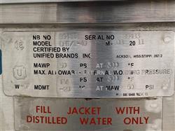 Image 40 Gallon GROEN Jacketed Tilting Kettle 1459276
