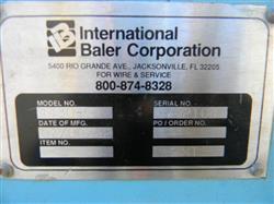Image INTERNATIONAL BALER CORP. Baler 1459777