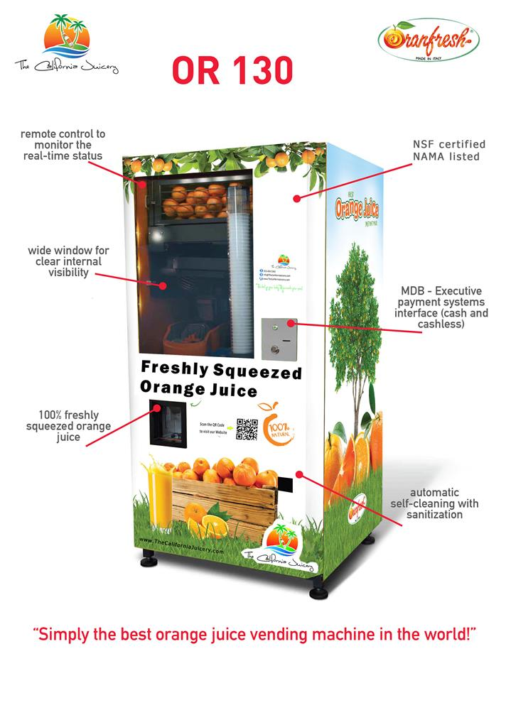 Image ORANFRESH Orange Juice Vending Machine  1460374