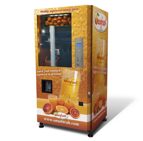 Image ORANFRESH Orange Juice Vending Machine  1460376