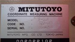 Image MITUTOYO F604 Coordinate Measuring Machine with Air Dryer and Accessories 1460392